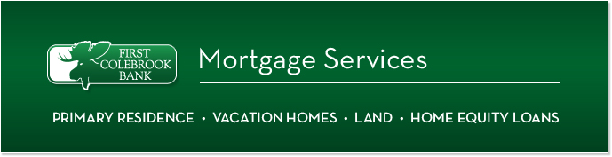 First Colebrook Bank Mortgages